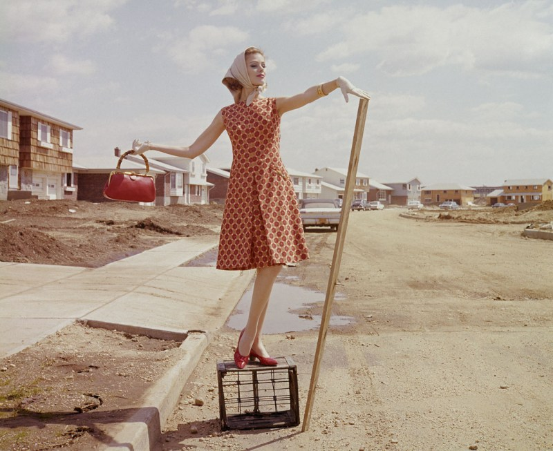 a-model-in-red-gold-at-plushwillow-park-in-1962