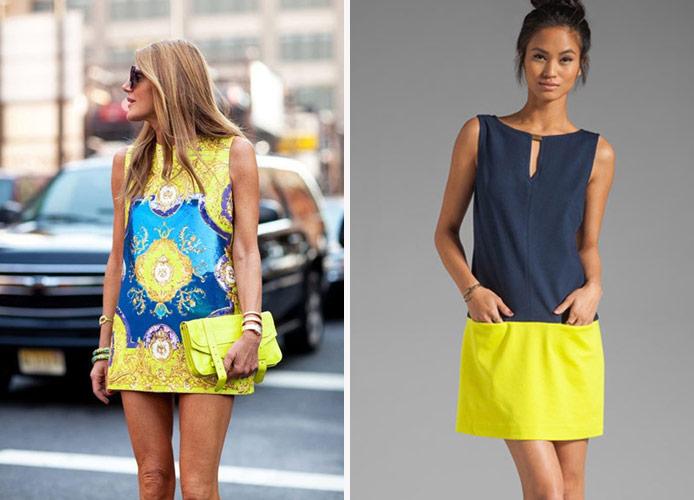 Модели платья из легкого трикотажа