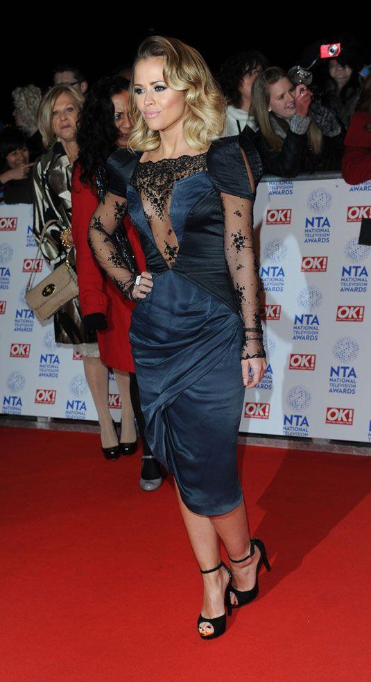 Лондоне мероприятии national television awards 2013