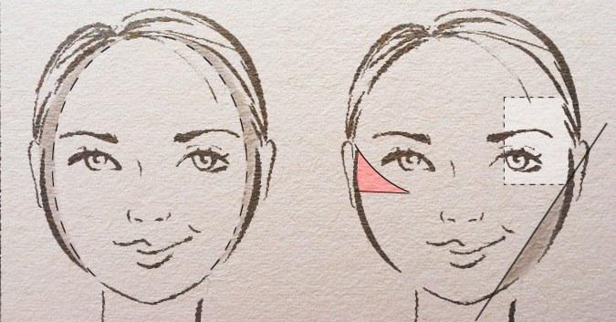 круглая форма лица