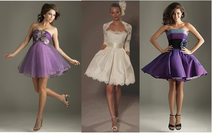 Пышные юбки на вечерних платьях фото