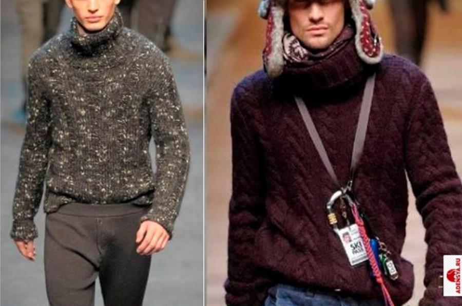Мужские свитера фото 2