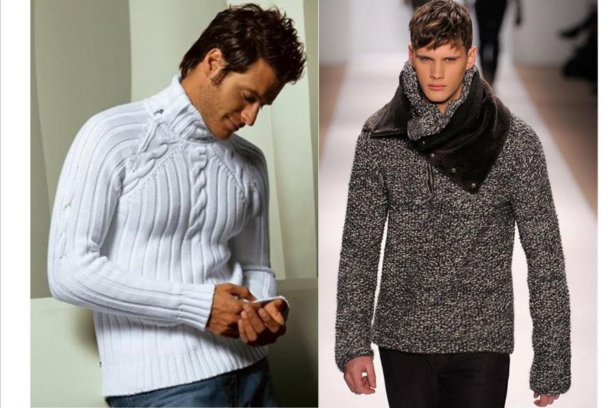 Мужские свитера фото 5