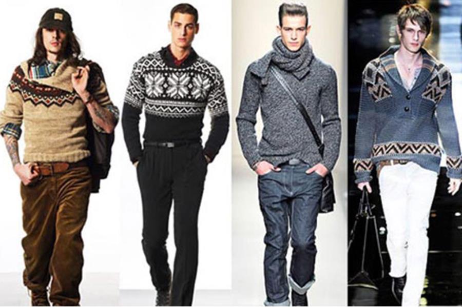 Мужские свитера фото 6