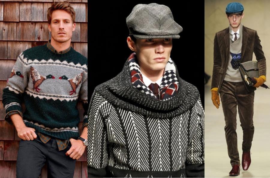 Мужские свитера фото 8