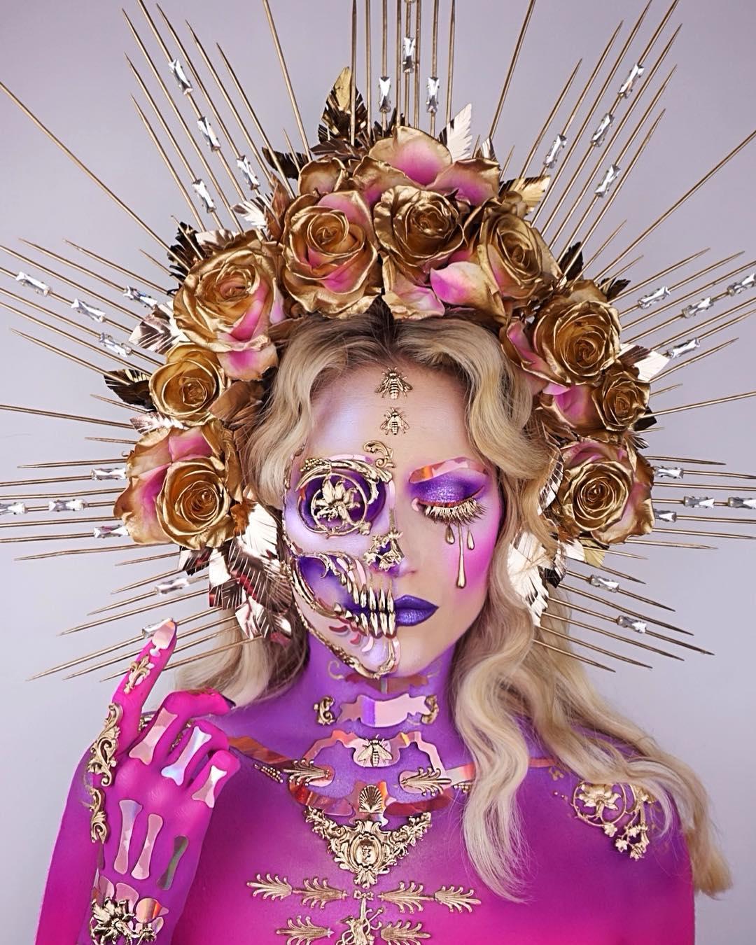 Лучшие идеи макияжа на Хэллоуин