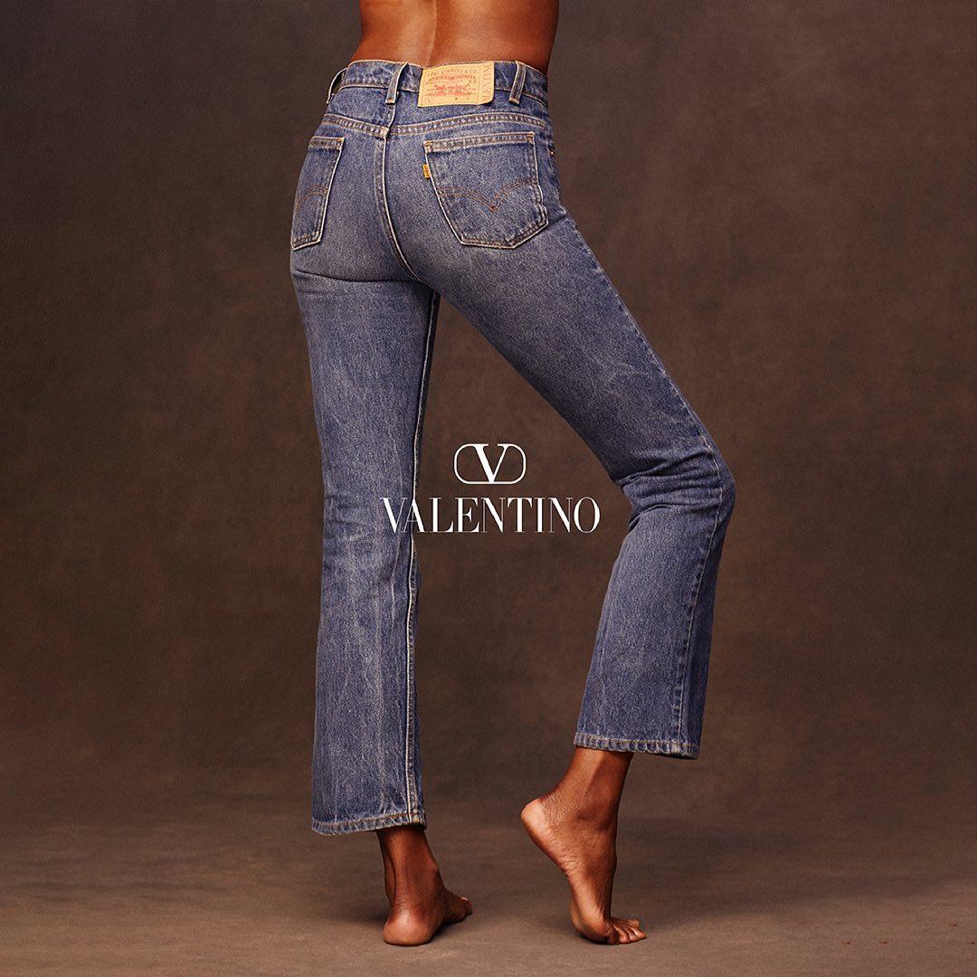 Valentino x Levi's — современный романтизм